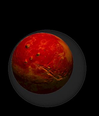 Marte, planeta rojo
