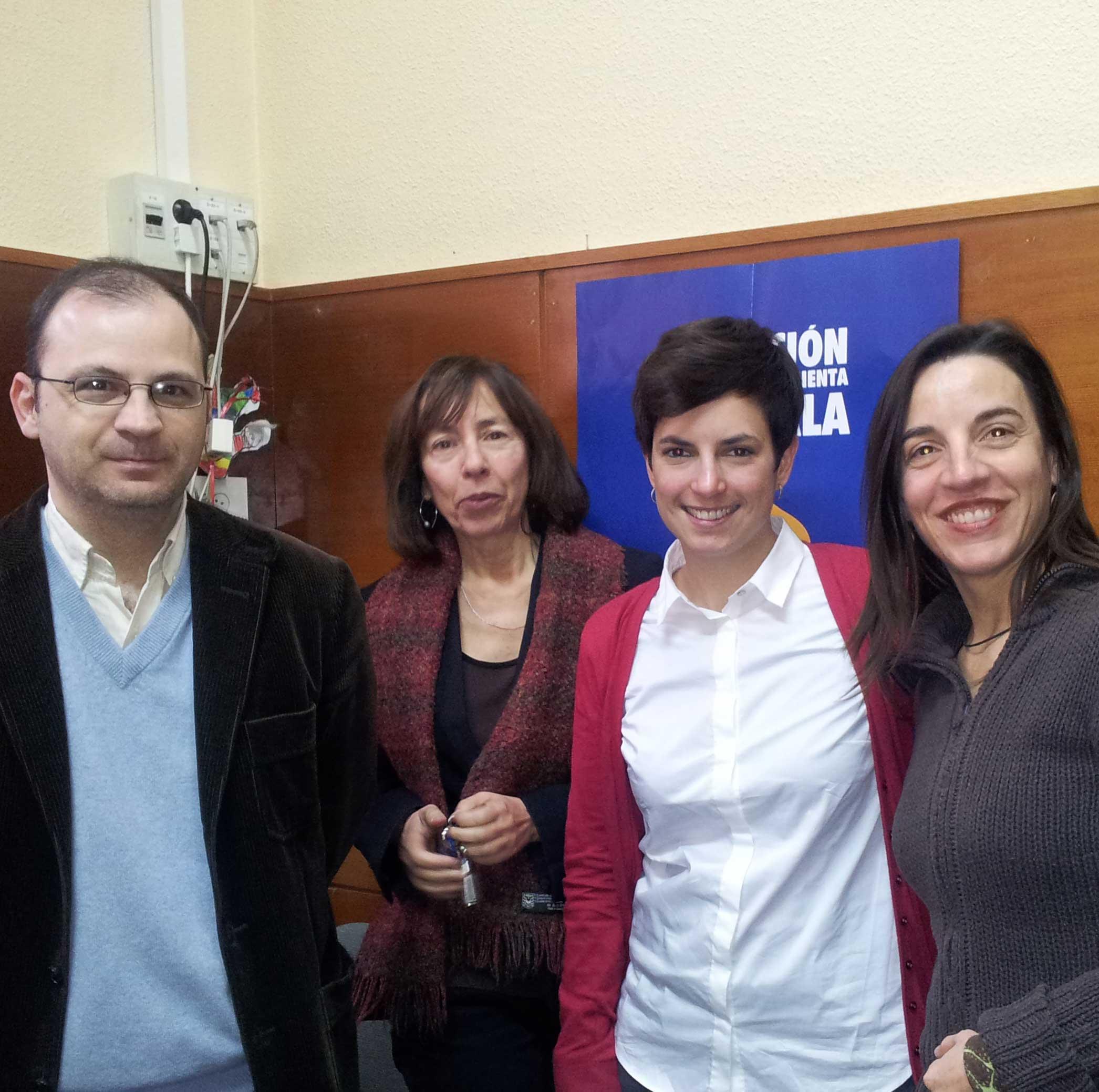 María Silveria Agulló Tomás, Mª Victoria Gómez García, Alberto Veira Ramos  Alba Gil Callado