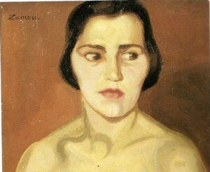 Cabeza de Mujer, Joaquina Zamora