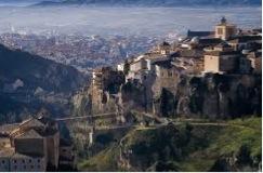 Vista de la ciudad de Cuenca