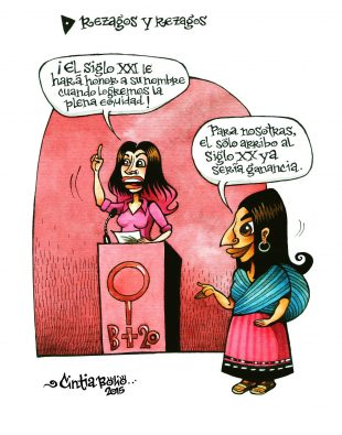 El humor de Cintia Bolio