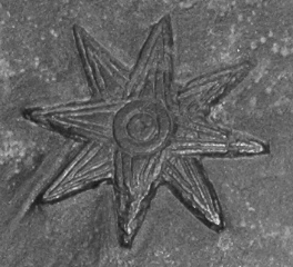 Estrella de ocho puntas, símbolo de Innana/Ishtar