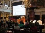 Isadora Duncan presenta sus programas en unas jornadas sobre políticas de familia en la Universidad de Amsterdam