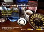 Nuevo taller de cestería con periódicos en Isadora Duncan