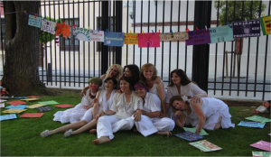 Performance del Colectivo Baba Yagá