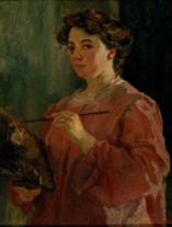 Lluïsa Vidal (autorretrato)