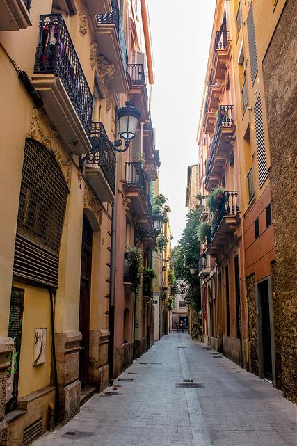 Alejandra soler y el barrio del carmen en valencia for Piscina el carmen valencia