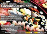 Apúntate a nuestro nuevo taller sobre cocinas del mundo y dale un toque de color a tu menú
