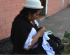 La artesanía de las mujeres de Chibuleo