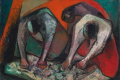 Tres figuras. María Luisa Pacheco