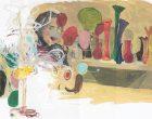 Jarrones de colores. Elena Blasco