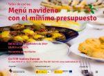 """""""Menú navideño con el mínimo presupuesto"""", nuevo taller de cocina en Isadora Duncan"""
