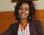 Una activista por los derechos de las personas migrantes en Túnez