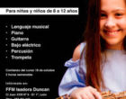 Isadora Duncan pone en marcha un aula de música para niñas y niños de 8 a 12 años