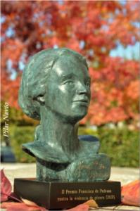 Busto premio Francisca de Pedraza