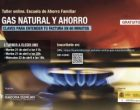 Taller online: Gas natural y ahorro