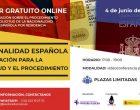 Taller on line gratuito sobre nacionalidad española: información para la solicitud y el procedimiento