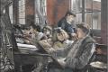 La clase de pintura. Elvira Santiso García