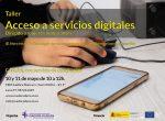 Nuevo taller de acceso a servicios digitales dirigido a mujeres inmigrantes